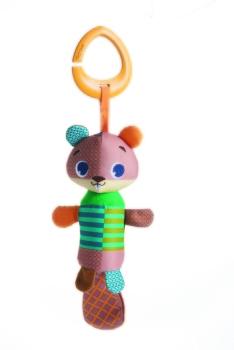Zawieszka Tiny Smarts dzwoneczek - Bóbr Albert