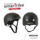 Kask rowerowy Smart Trike - rozmiar M - czarny