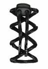 Odblaskowe sznurowadła - czarne