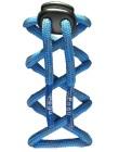 Odblaskowe sznurowadła - niebieskie