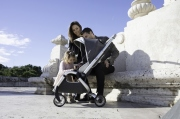 wózki  dziecięce - Wózek spacerowy mima Zigi - Charcoal