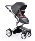 wózki dziecięce - Uzupełniający zestaw startowy do wózka mima Xari - Pixel Pink