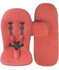 Zestaw kolorystyczny do wózka mima Xari - Coral Red