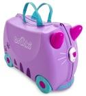Jeżdżąca walizeczka - Kotek Cassie + naklejki