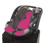 Wkładka antypotowa do fotelika samochodowego 0-13 kg - różowa