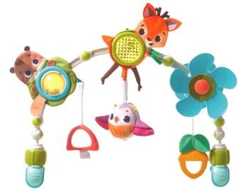 Łuk muzyczny z zabawkami - Leśna Kraina