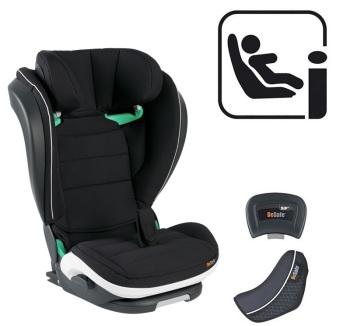 foteliki  samochodowe - Fotelik samochodowy BeSafe iZi Flex FIX i-Size - czarny cab - 64