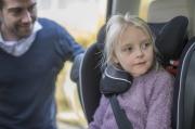 foteliki  samochodowe - Fotelik samochodowy BeSafe iZi Flex FIX i-Size - czarny melange - 01