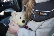 foteliki  samochodowe - Fotelik samochodowy BeSafe iZi Flex FIX i-Size - metaliczy melange- 02