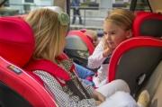 foteliki  samochodowe - Fotelik samochodowy BeSafe iZi Flex FIX i-Size-zachód słoń. melange-07