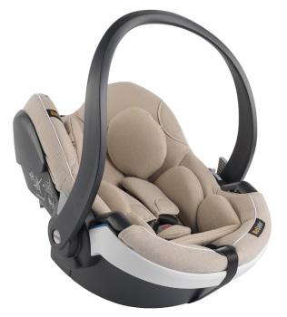 foteliki  samochodowe - Fotelik samochodowy BeSafe iZi Go Modular i-Size WE-kość słoniowa-0
