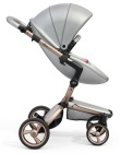 wózki dziecięce - Stelaż mima Xari 3G i osłonka przeciwdeszczowa - Rose Gold