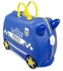 Jeżdżąca walizeczka - Radiowóz Percy + naklejki