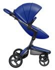 wózki dziecięce - Stelaż mima Xari 3G i osłonka przeciwdeszczowa - Graphite Grey