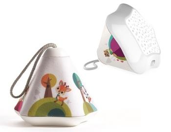 Lampka/projektor muzyczny Mały Marzyciel z sensorem 3w1 - Leśna Kraina