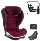 Fotelik samochodowy BeSafe iZi Flex FIX i-Size - burgund melange