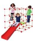 Drabinka dla dzieci Climb n' Slide Cube ze schodami i ślizgiem