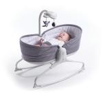 Wielofunkcyjny leżaczek-bujaczek z funkcją krzesełka 3w1 - Grey