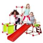 Drabinka dla dzieci Climb n' Slide Pyramid ze schodami i ślizgiem