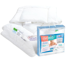 Kołderka z poduszką dla dziecka 135x100 AEGIS ACTIVE HYGIENE