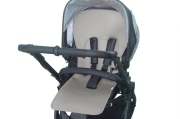 CLIMATIC SEAT COVER FOR PRAMS GREY