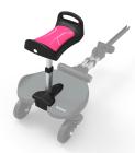 Dostawka do wózka z siedziskiem dla starszego dziecka Seat+ - różowa