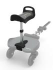 Dostawka do wózka z siedziskiem dla starszego dziecka Seat+ - szara