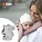 Nosidełko dla dziecka BeSafe Haven - Premium - szare