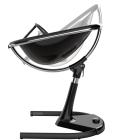 Krzesełko Mima Moon 2G - stelaż + podnóżek - czarny