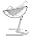 Krzesełko Mima Moon 2G - stelaż + podnóżek - biały