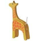 Żyrafa drewniania figurka bambusowa
