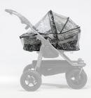 Osłona przeciwdeszczowa na wózek TFK Duo Combi-na 1 gondole/siedzisko