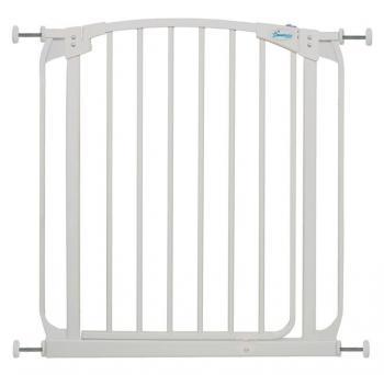 bramki bezpieczeństwa - Bramka bezpieczeństwa Chelsea (W: 71-80cm x H: 75cm) - biała