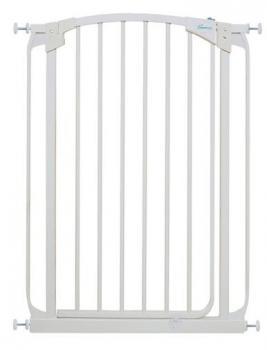 bramki bezpieczeństwa - Bramka bezpieczeństwa Chelsea (W: 71-80cm x H: 1m) - biała