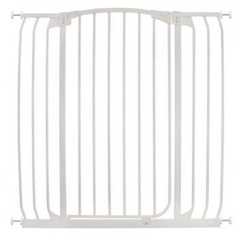 bramki bezpieczeństwa - Bramka bezpieczeństwa Chelsea - szeroka (W: 97-106cm x H: 1m) - biała