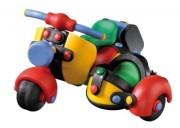 Wesoły konstruktor - Motor z bocznym siedzeniem