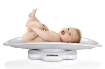 Waga elektroniczna dla dzieci i niemowląt