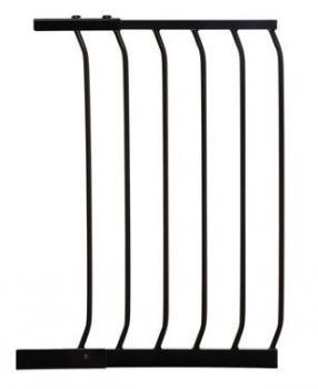 bramki bezpieczeństwa - rozszerzenia - Rozszerzenie bramki bezpieczeństwa Chelsea - 45cm (wys. 75cm) - czarne