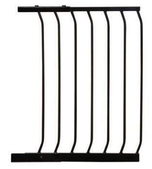bramki bezpieczeństwa - Rozszerzenie bramki bezpieczeństwa Chelsea - 54cm (wys. 75cm) - czarne