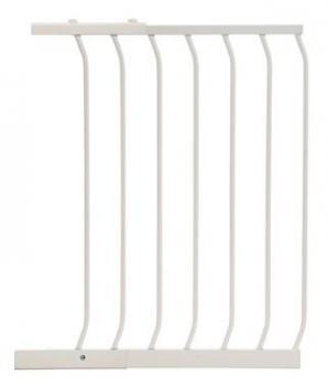 bramki bezpieczeństwa - rozszerzenia - Rozszerzenie bramki bezpieczeństwa Chelsea - 54cm (wys. 75cm) - białe