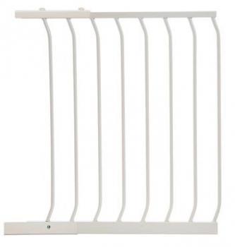 bramki bezpieczeństwa - rozszerzenia - Rozszerzenie bramki bezpieczeństwa Chelsea - 63cm (wys. 75cm) - białe