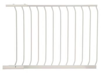 bramki bezpieczeństwa - Rozszerzenie bramki bezpieczeństwa Chelsea - 1m (wys. 75cm) - białe
