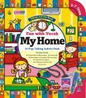Książka interaktywna z grami Crocopen - Zabawa słowami - Mój dom