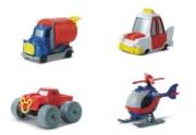 Auto Disney w skali 1:64 kolekcja 3 Truck,MickeyB,Taxi,Helicopter 1szt