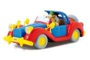 Auto Disney w skali 1:43 - Mickey, Scrooge, Donald, Goofy 1 szt.
