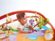 maty edukacyjne - Gimnastyka dla bobasa z pałąkami Move & Play