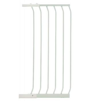 bramki bezpieczeństwa - Rozszerzenie bramki bezpieczeństwa Chelsea - 45cm (wys. 1m) - białe