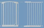 bramki bezpieczeństwa - rozszerzenia - Rozszerzenie bramki bezpieczeństwa Chelsea - 63cm (wys. 1m) - białe