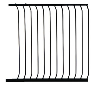 bramki bezpieczeństwa - Rozszerzenie bramki bezpieczeństwa Chelsea - 1m (wys. 1m) - czarne