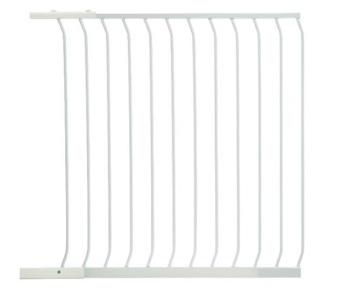 bramki bezpieczeństwa - Rozszerzenie bramki bezpieczeństwa Chelsea - 1m (wys. 1m) - białe